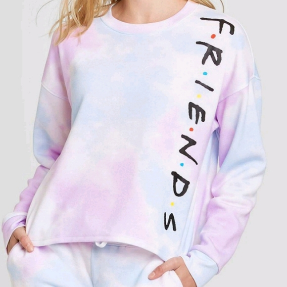 FRIENDS TIE DYED SWEATER